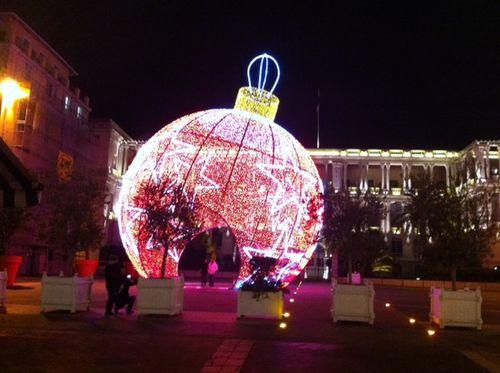 Christmas in nice, Europe
