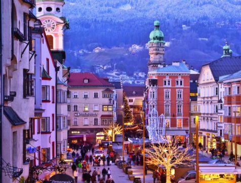 Christmas market in Innsbruck, Austria