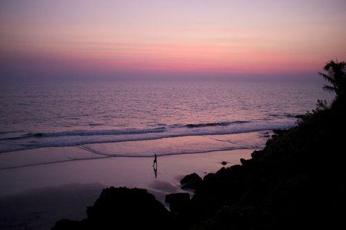 Varkala beach(flikr)